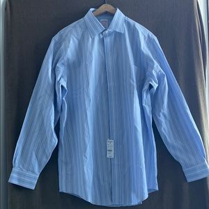 New Brooks Brothers Button Down Dress Shirt